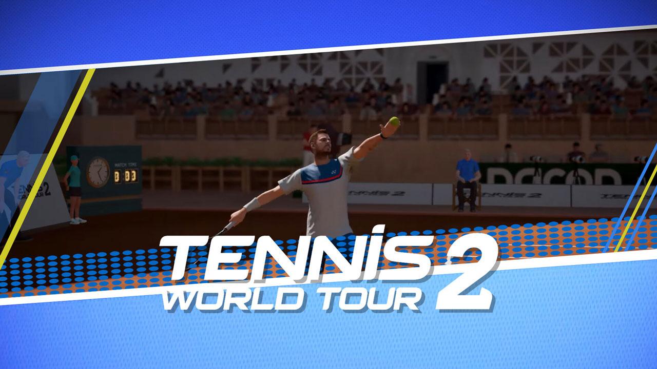 Tennis World Tour 2 g2 - اکانت قانونی  Tennis World Tour 2  / PS5