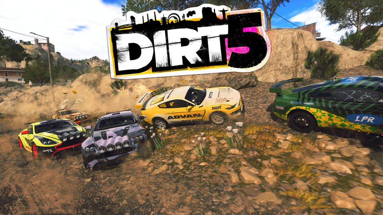 dirt 5 g2 - اکانت قانونی Dirt 5  / PS4   PS5