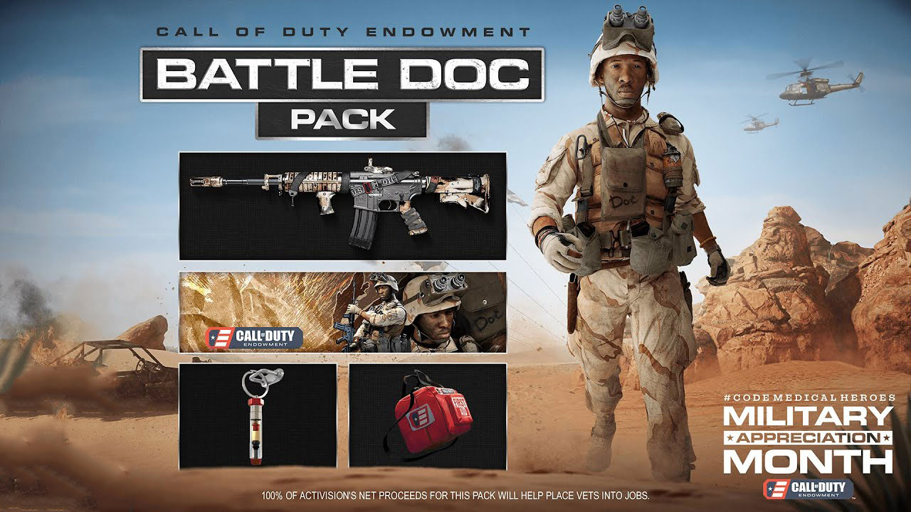 Call of Duty Endowment Battle Doc Pack 1 - سی دی کی اورجینال Call of Duty Endowment - Battle Doc Pack