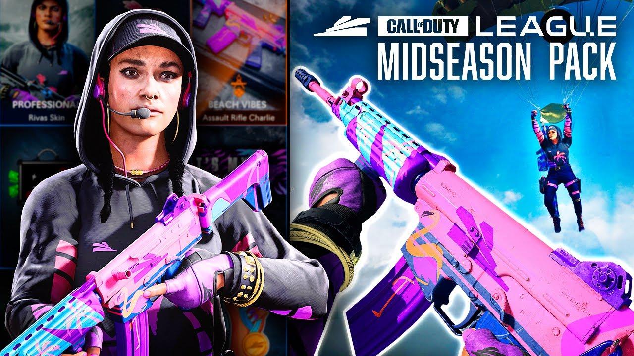 Call of Duty League Midseason Pack 1 - سی دی کی اورجینال Call of Duty League - Midseason Pack