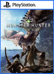 اکانت قانونی Monster Hunter: World  / PS4 | PS5